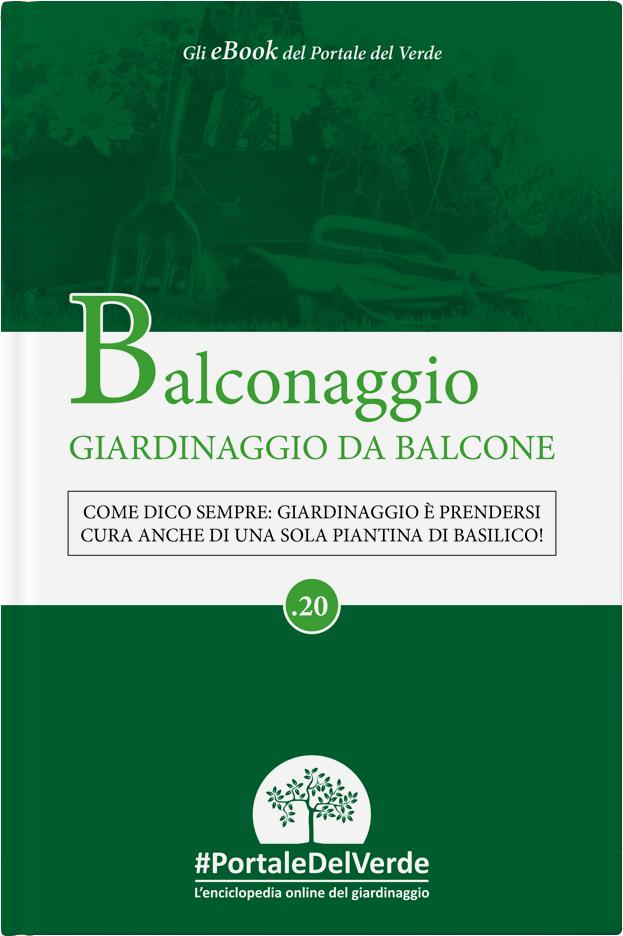 Balconaggio, il mio e-book con e per il Portale del Verde