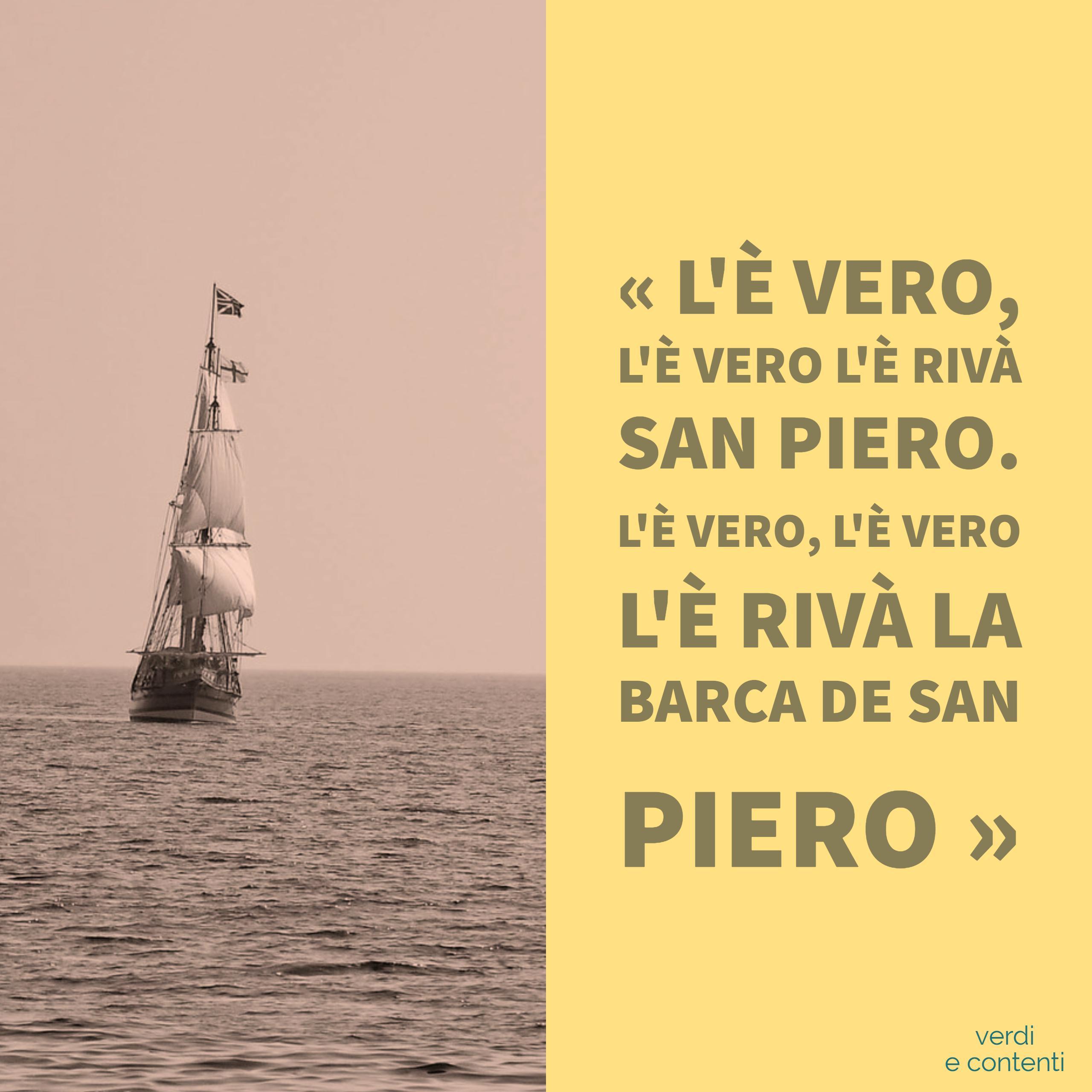 il Veliero o la Barca di San Pietro
