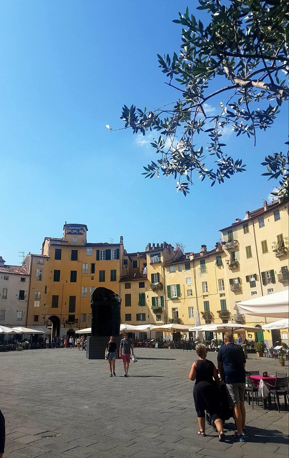 Lucca. Una città verde da visitare.