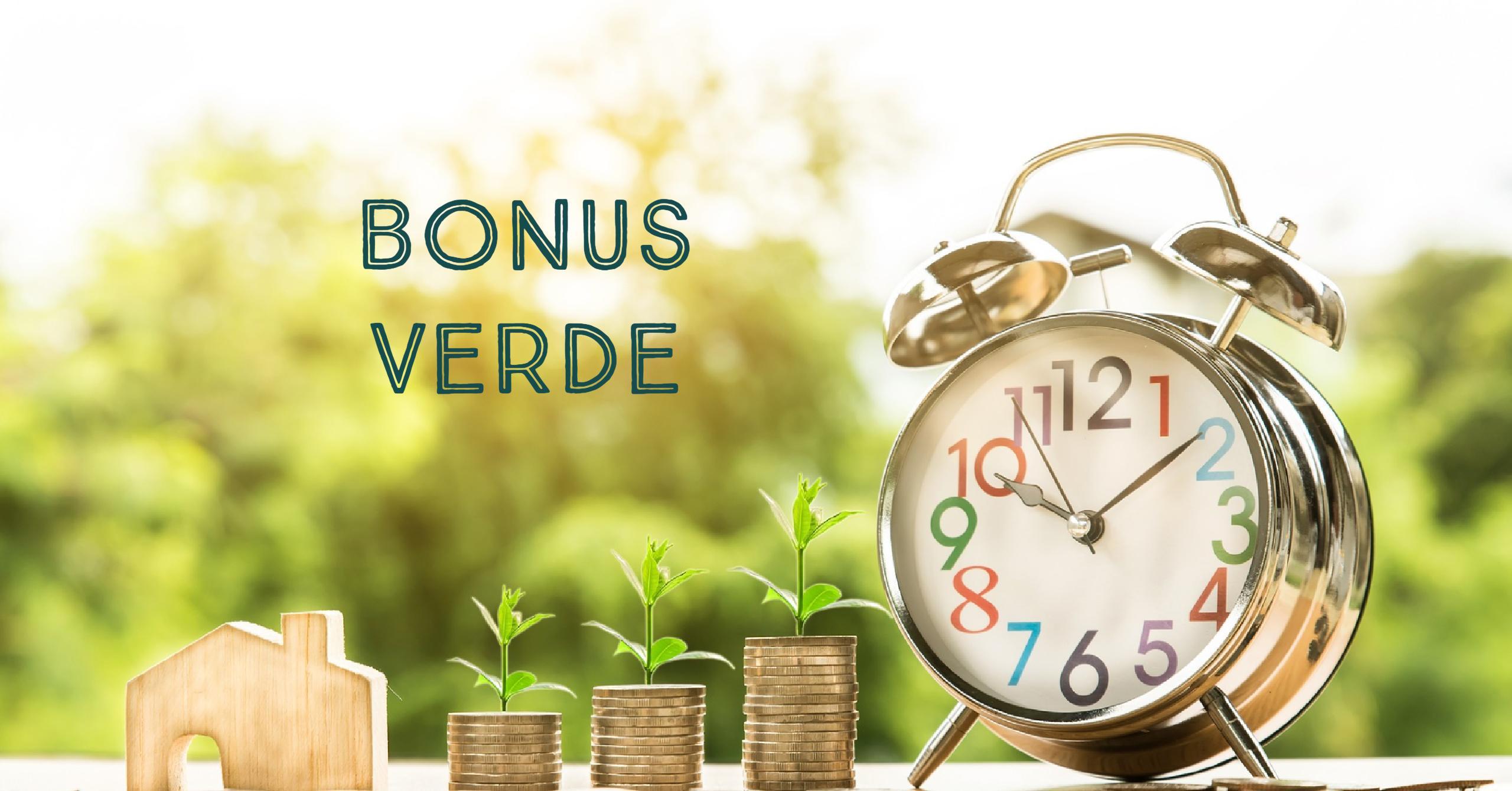Buone Notizie : dal 2018 arriva il Bonus Verde.
