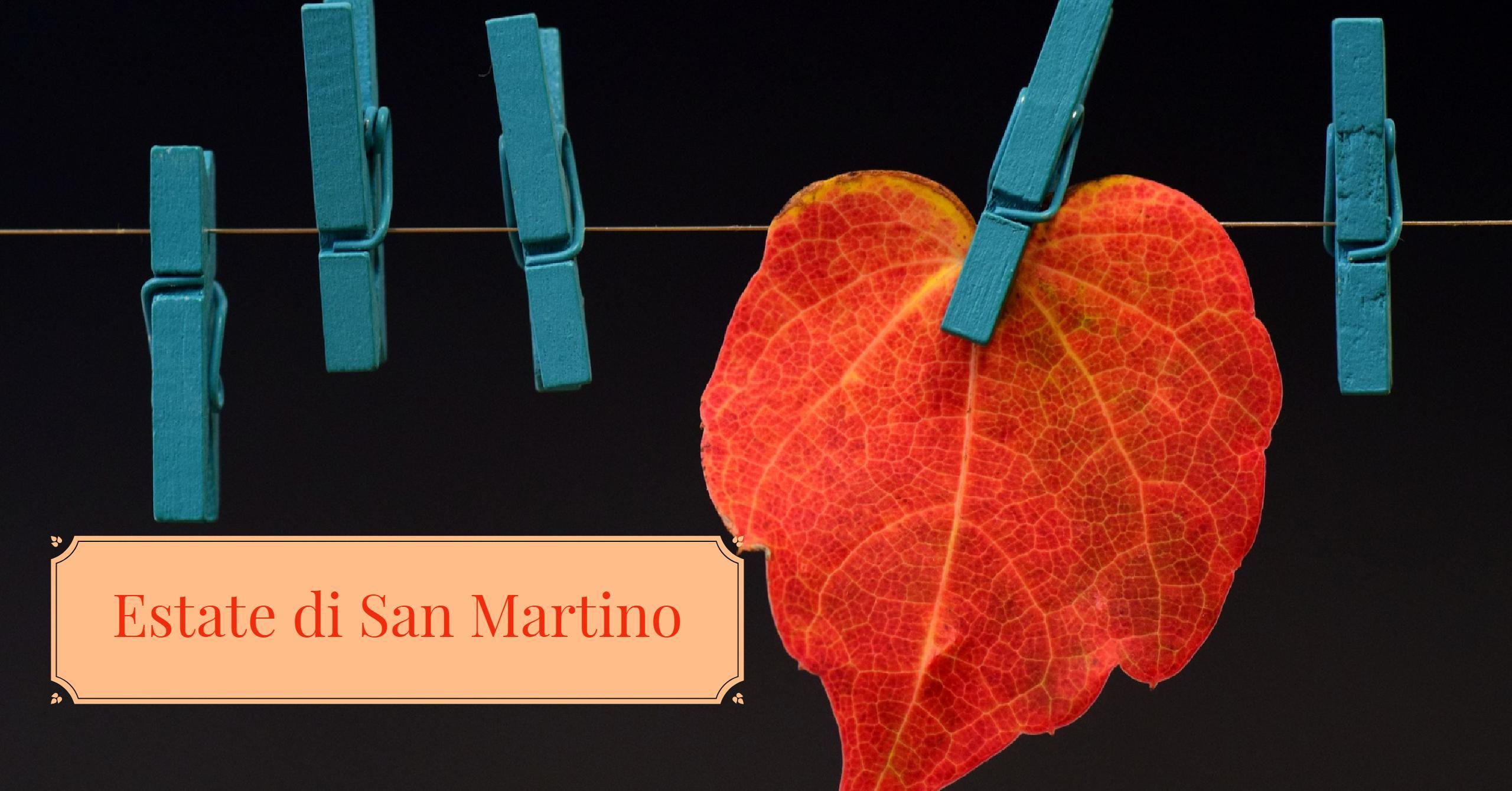 Estate di San Martino. Origini, usanze e curiosità.