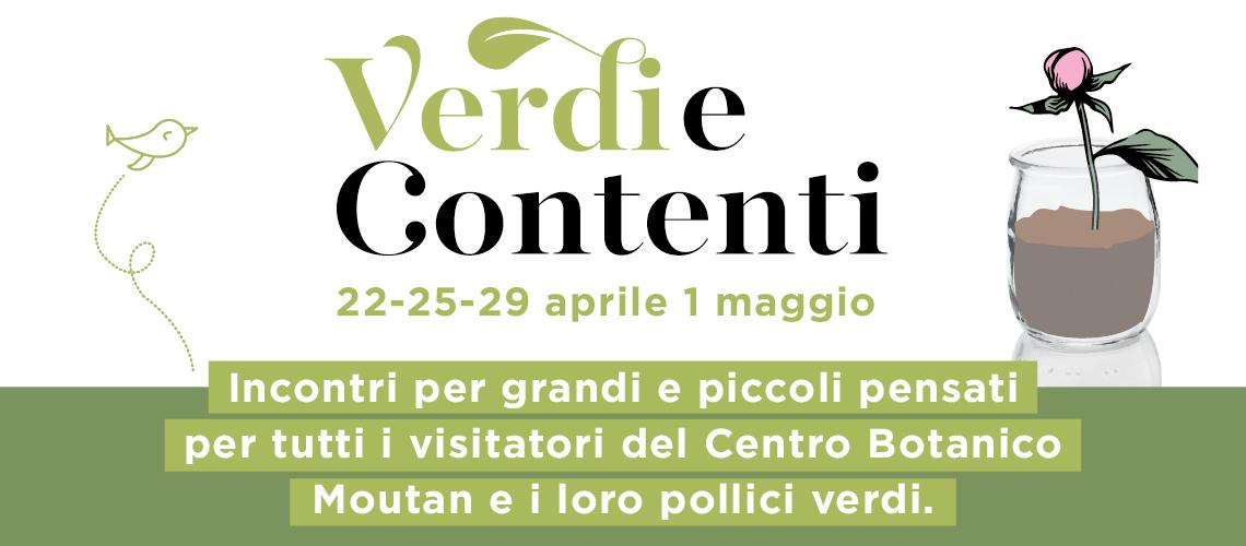 Verdi e Contenti: appuntamenti green al Centro Botanico Moutan