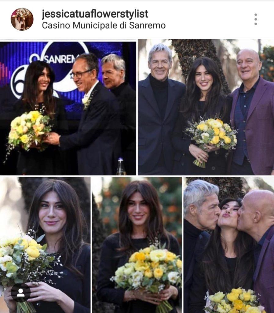 Mazzo Di Fiori The West.Sanremo 2019 I Fiori Un Po Di Gossip Floreale Verdi E Contenti