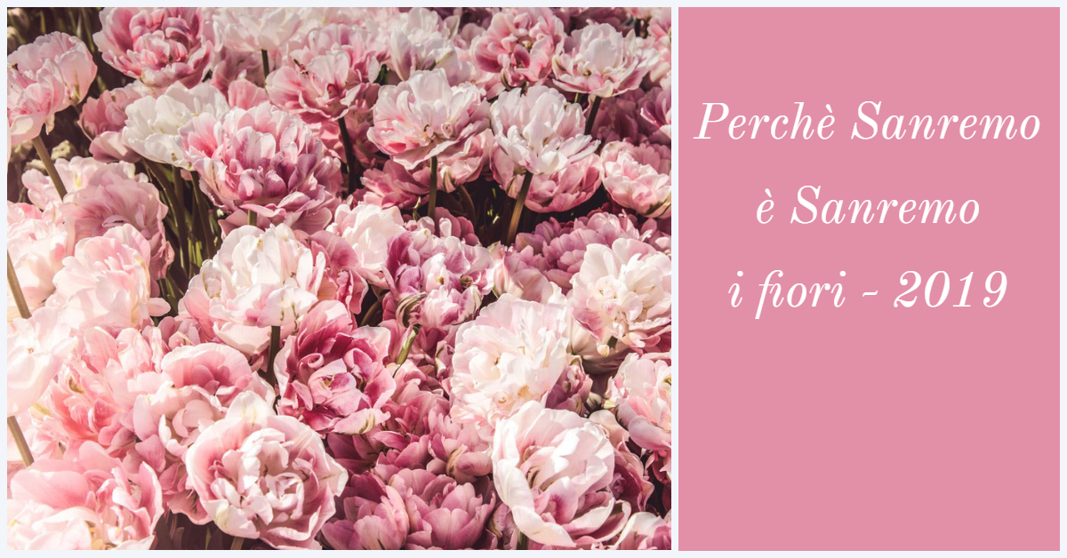 Sanremo 2019 – parlano i fiori